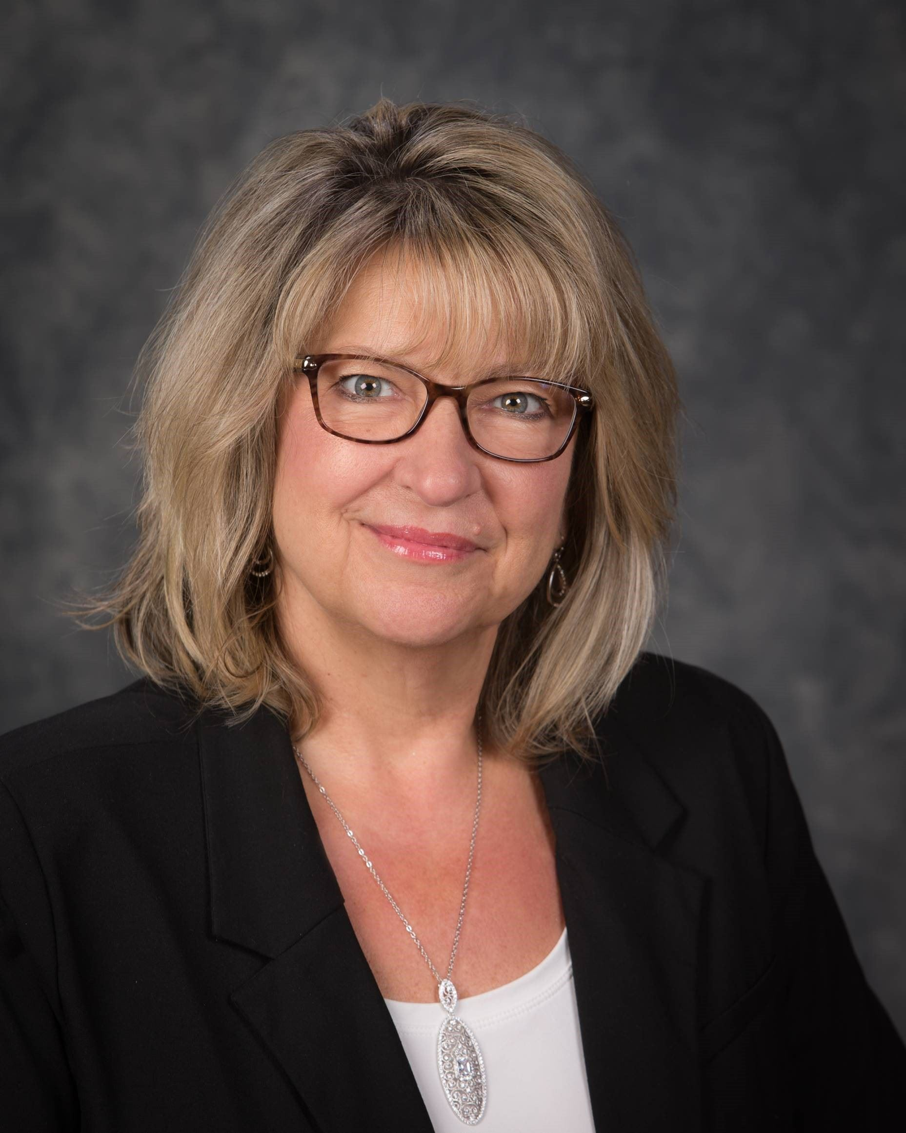 Headshot of Finance Director Renee Mullen