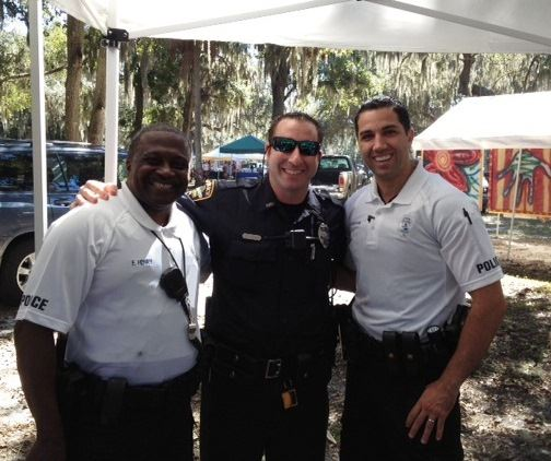 Oakland Officers at Heritage Day